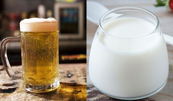 Gội đầu bằng bia và sữa tươi khắc phục tình trạng tóc hư tổn