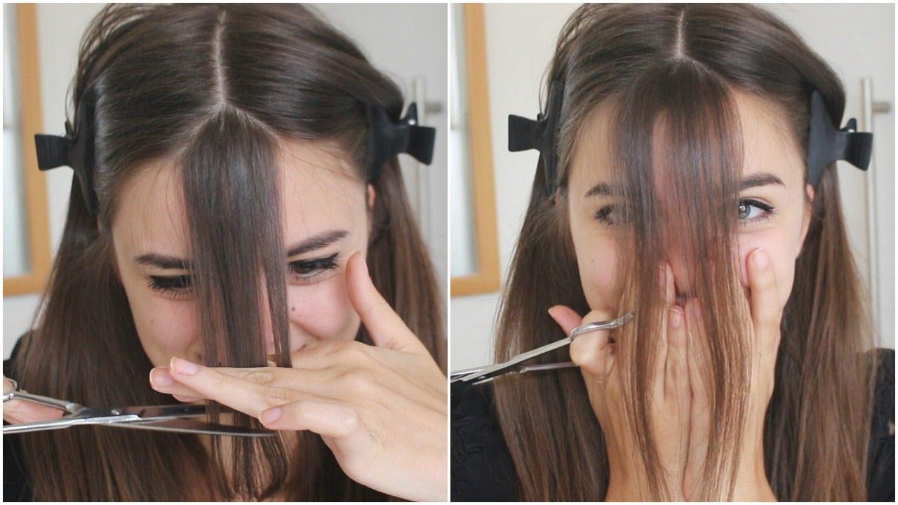 Cẩn thận với tóc mái khi tự cắt tóc tại nhà