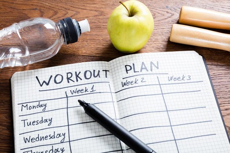 Có mục tiêu để tập thể dục