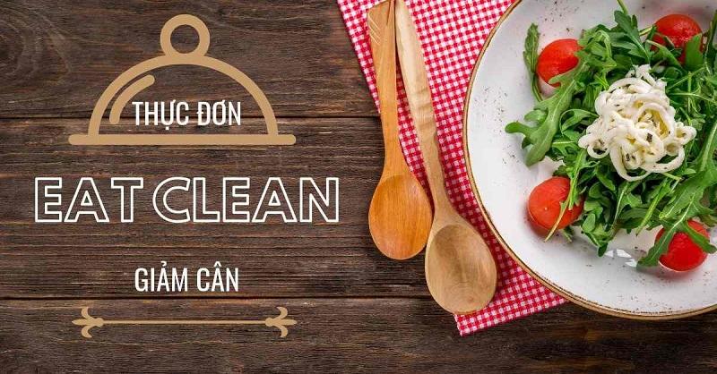 thực đơn eat clean giảm cân chay