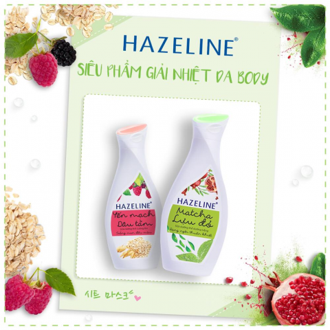 Kem dưỡng trắng da body Hazeline