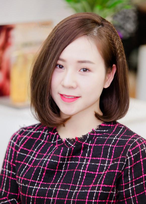 Tóc ngắn cúp phồng Hàn Quốc