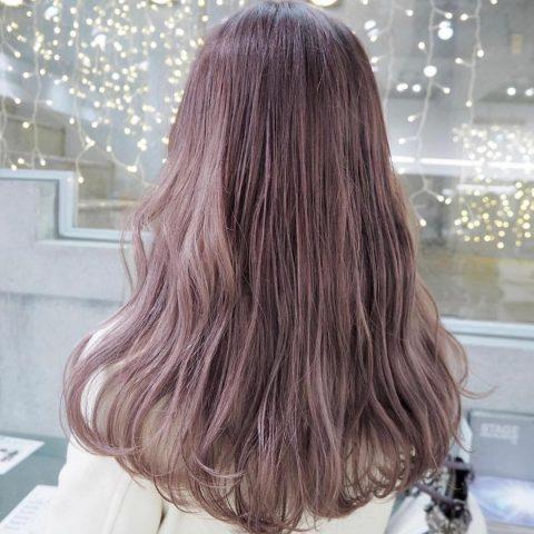 Nhuộm tóc màu nâu oải hương - Những màu tóc không cần tẩy HOT
