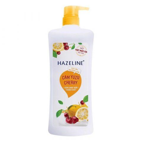Sữa tắm tẩy tế bào chết Hazeline