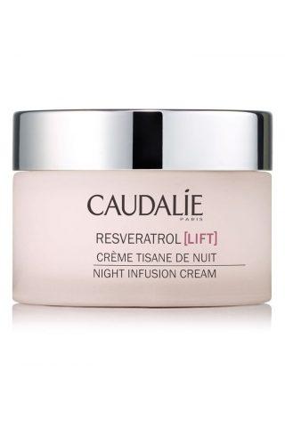 Caudalie Resveratrol Lift Night Infusion Cream kem dưỡng da ban đêm chống oxy hóa cho làn da rạng rỡ