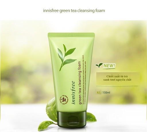 Innisfree -Sữa rửa mặt da dầu cực kỳ hiệu quả