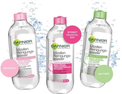 Nước tẩy trang cho da dầu mụn Garnier dành cho mọi loại da nhạy cảm nhất