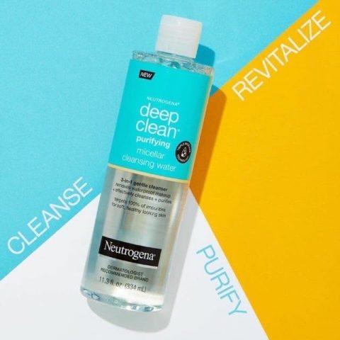 Nước tẩy trang cho da dầu mụn Neutrogena làm sạch da 7 trong 1