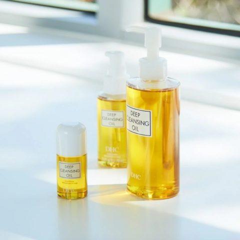 Nước tẩy trang cho da dầu mụn Nhật Bản Olive DHC Deep Cleansing Oil