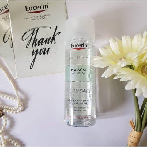 Nước tẩy trang da dầu mụn Eucerin Pro ACNE