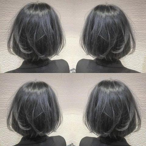 Tóc màu xám khói trầm đơn giản cá tính
