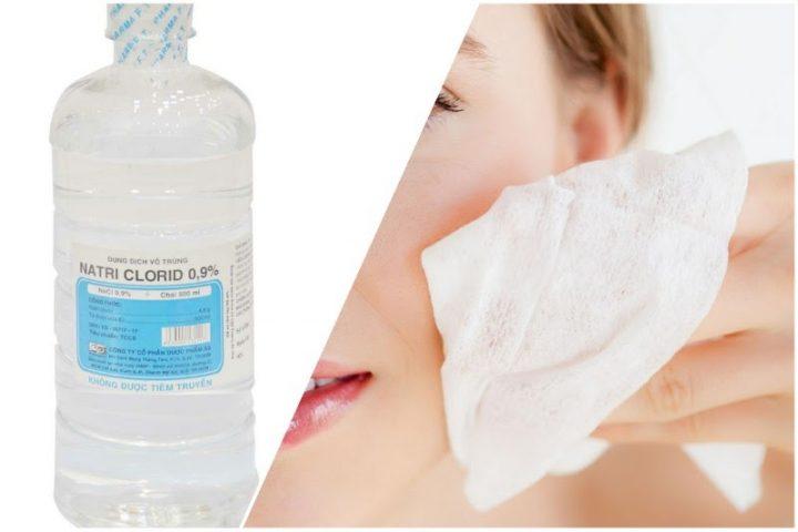 Rửa mặt bằng nước muối có tốt không?