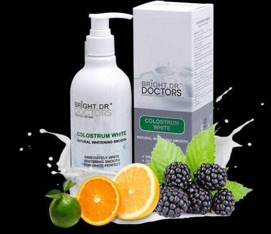 Bright Doctors Colostrum White 300ml – Sữa tắm dưỡng ẩm trắng từ sữa non