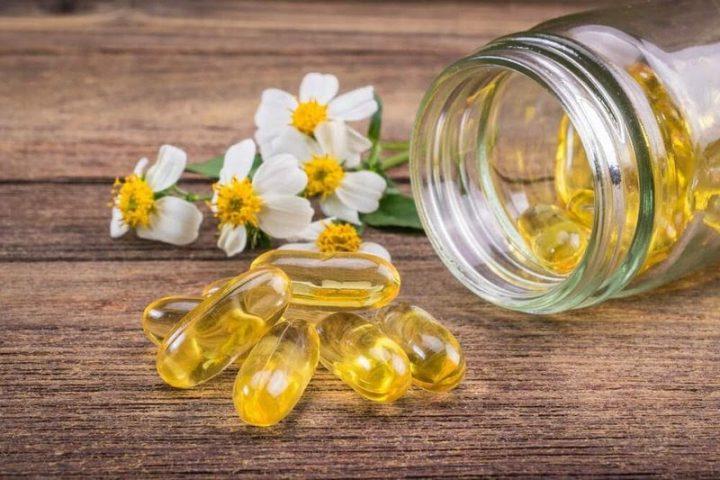 Trị vết thâm ở chân lâu năm bằng vitamin E