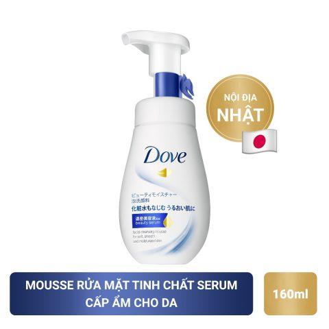 Sữa rửa mặt dành cho da khô Tinh Chất Serum Dove
