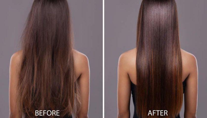 lợi ích khi chăm sóc tóc bằng protein