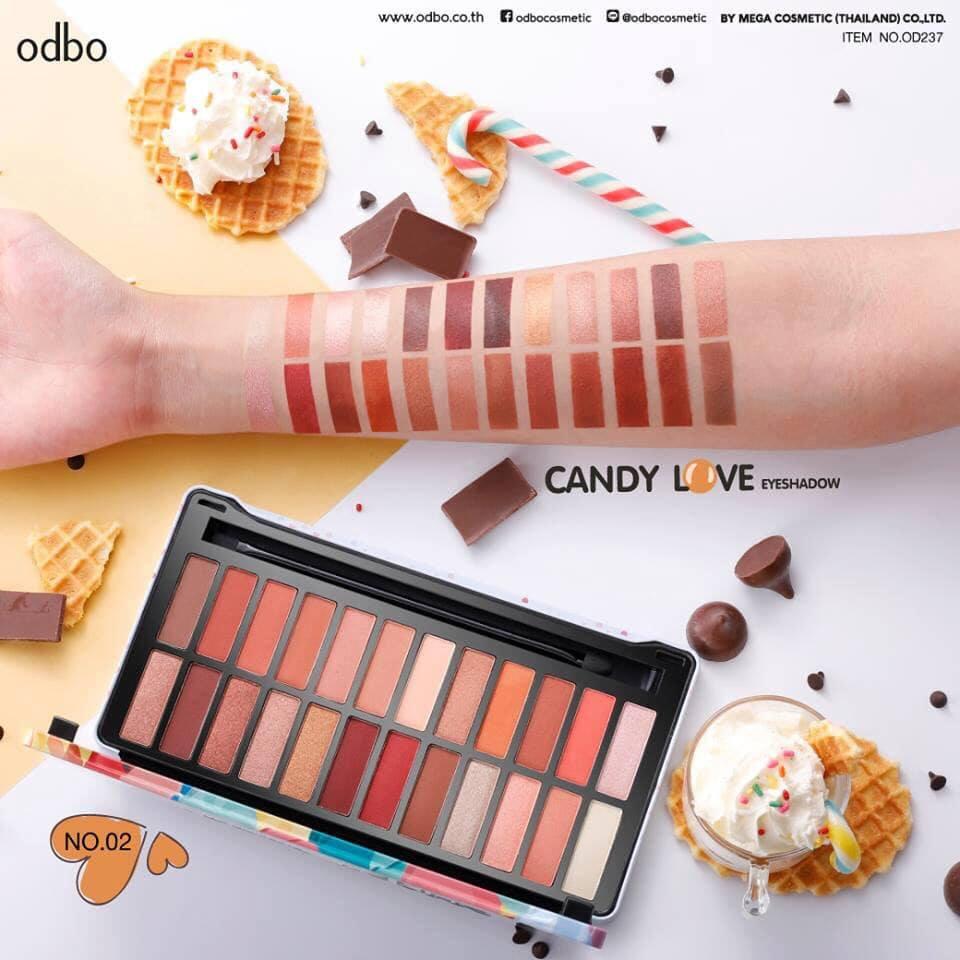 Bảng màu mắt Odbo Candy Love