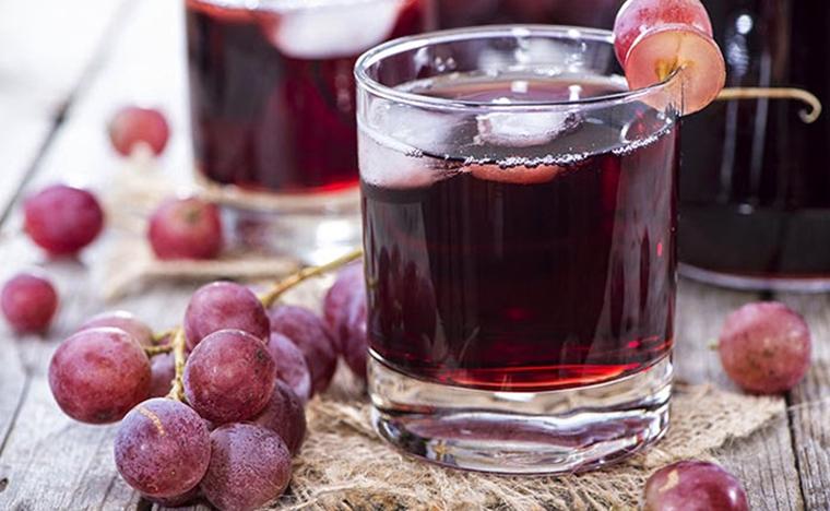 Nước ép nho - thức uống giảm cân