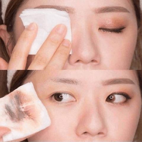 Cách dùng nước tẩy trang cho mắt và môi