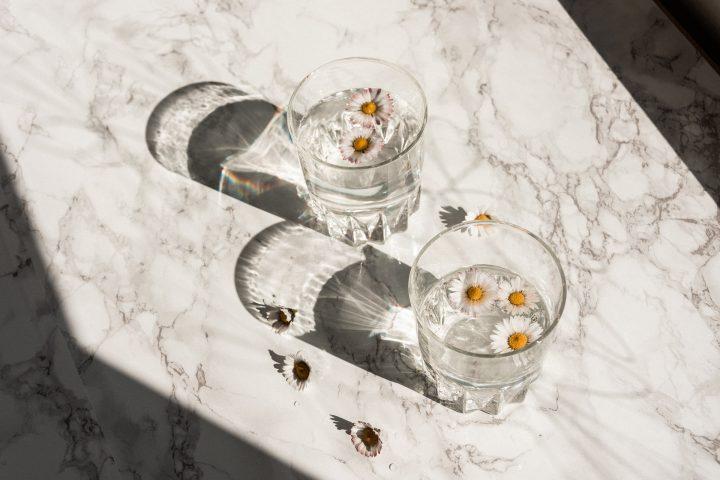 Các loại thức uống giảm cân trước khi ngủ - trà hoa cúc