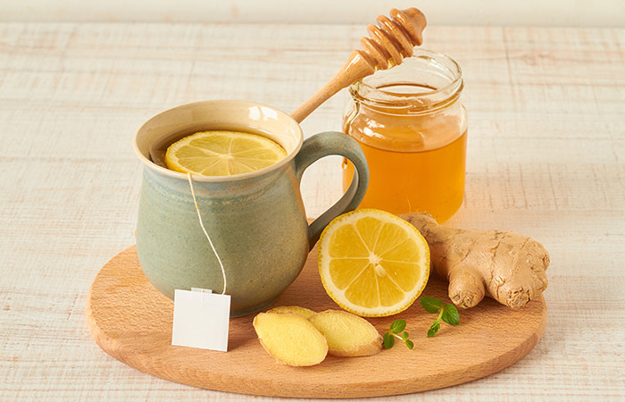 nước uống giảm cân su sinh chanh mật ong