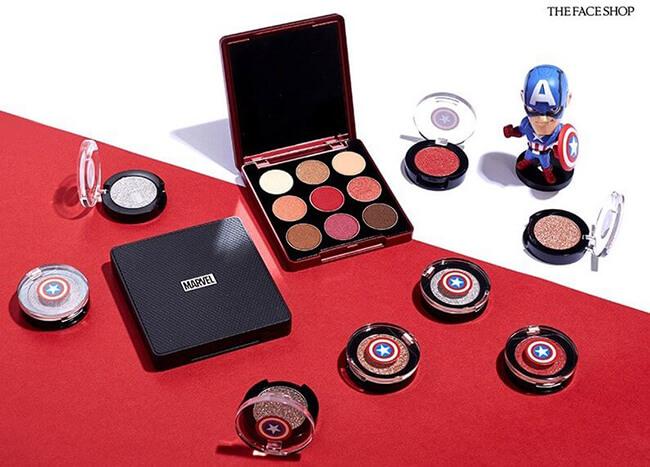 Bảng phấn mắt Hàn Quốc The Face Shop Mono Pop Eye Marvel