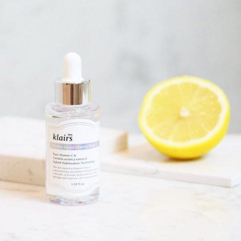 Serum trị thâm Klairs Freshly Juiced Vitamin Drop dành cho da dễ kích ứng