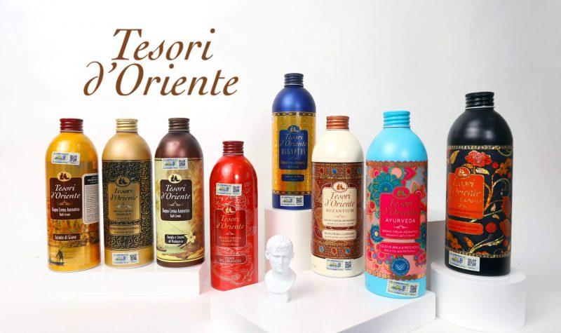 Sữa tắm thơm lâu tesori d'oriente