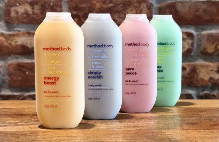 Sữa tắm thơm lâu Method Body