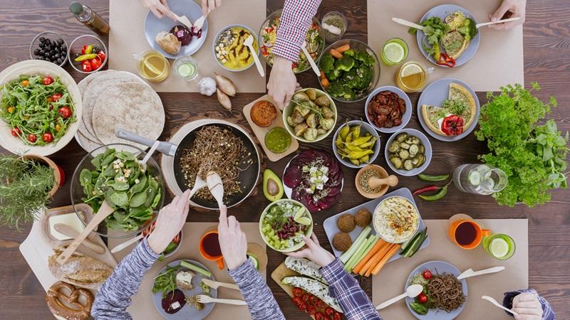 thực đơn ăn chay giảm cân