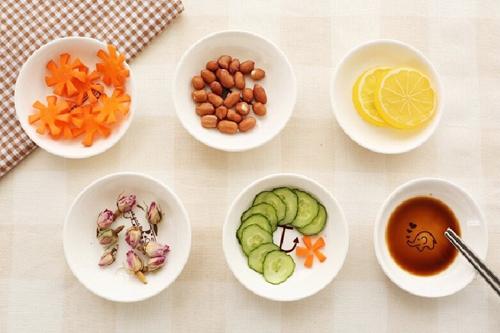 thực đơn giảm cân ăn chay ngày 5