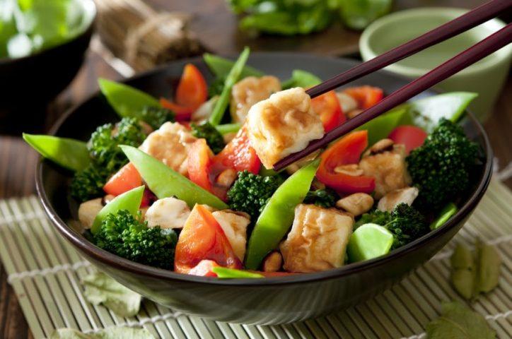 Tác dụng của thực đơn giảm cân dành cho người ăn chay với sức khỏe