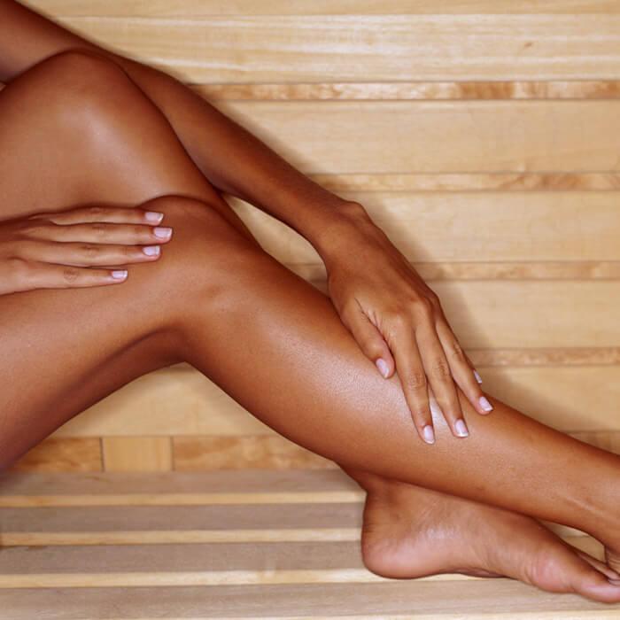 Viêm lỗ chân lông ở chân