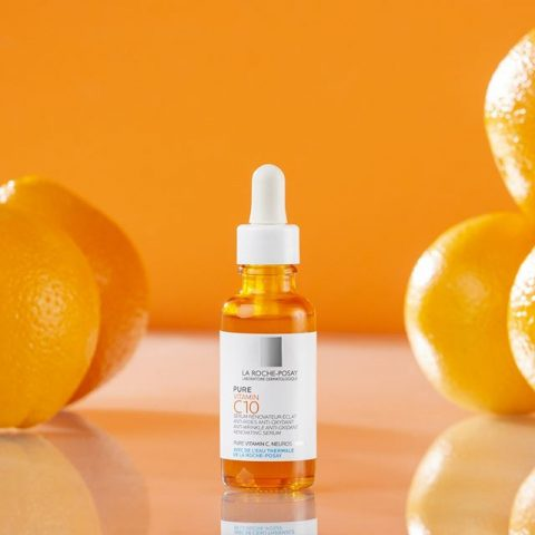 Serum Vitamin C dưỡng trắng da mặt La Roche Posay