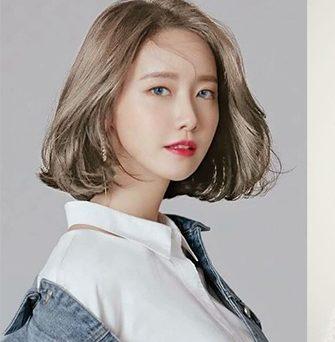 Kiểu tóc ngang vai đẹp cho khuôn mặt dài