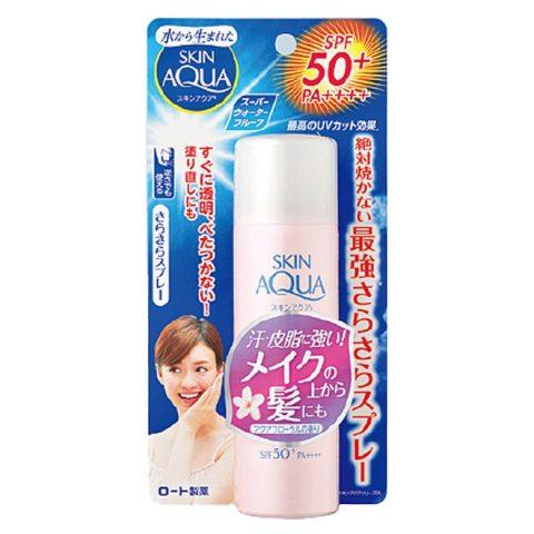 Kem chống nắng Skin Aqua Sara-Fit UV Spray Fragrance Free SPF50+ PA++++