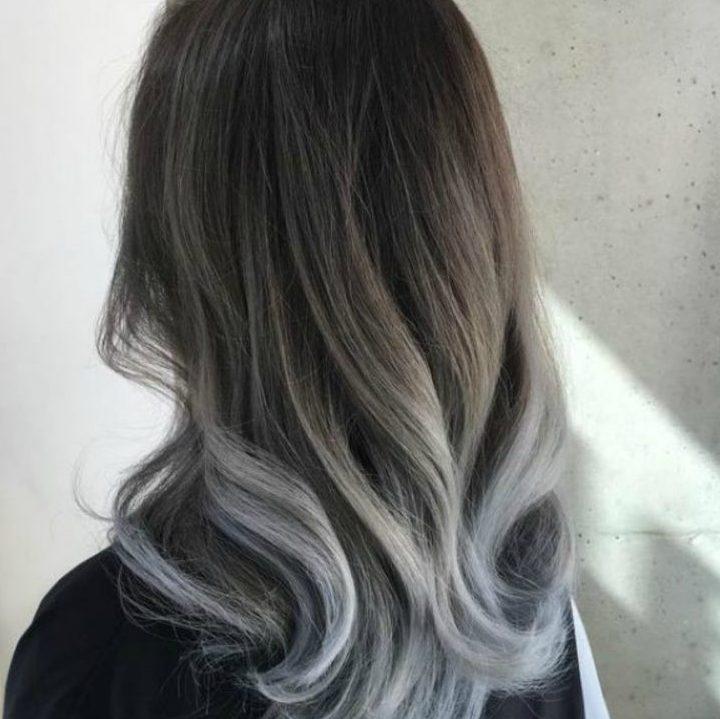 Màu tóc khói đẹp - màu tóc đẹp