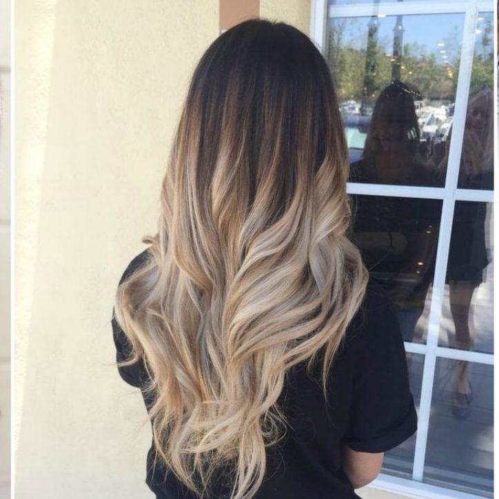 Màu tóc đẹp ánh đỏ