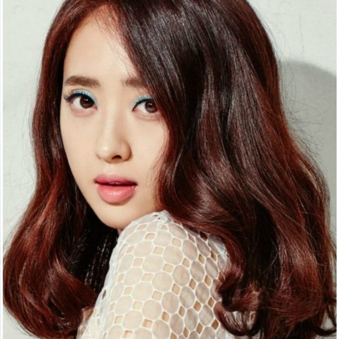 Màu tóc đẹp socola