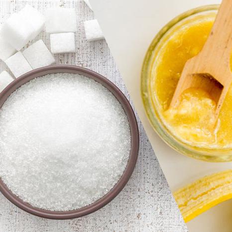 Các bước tẩy tế bào chết tự nhiên bằng chuối và đường