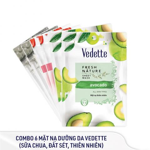 Mặt nạ dưỡng da Vedette