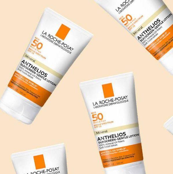 Kem chống nắng vật lý La Roche Posay Anthelios SPF 50 Mineral sunscreen – Gentle lotion