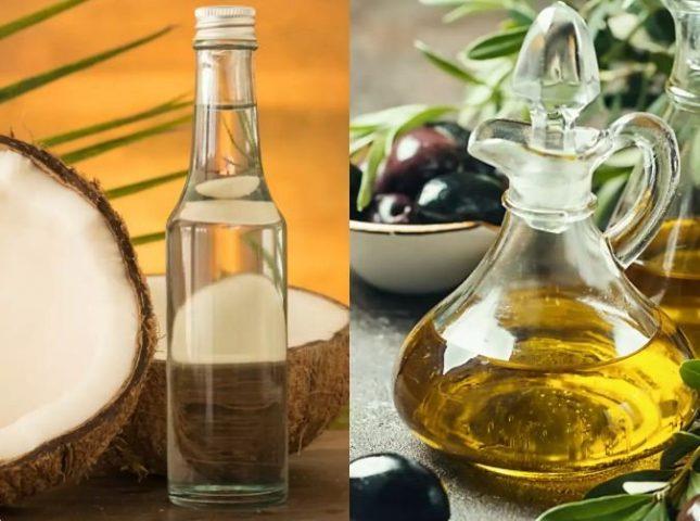 Cách chăm sóc da bằng dầu dừa, dầu ô liu thiên nhiên