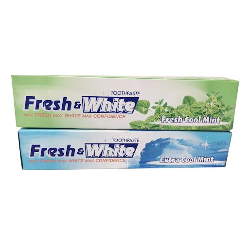 Kem đánh răng trắng răng Fresh & White Cool Mint