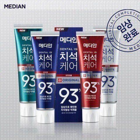 Kem đánh răng Median White Hàn Quốc