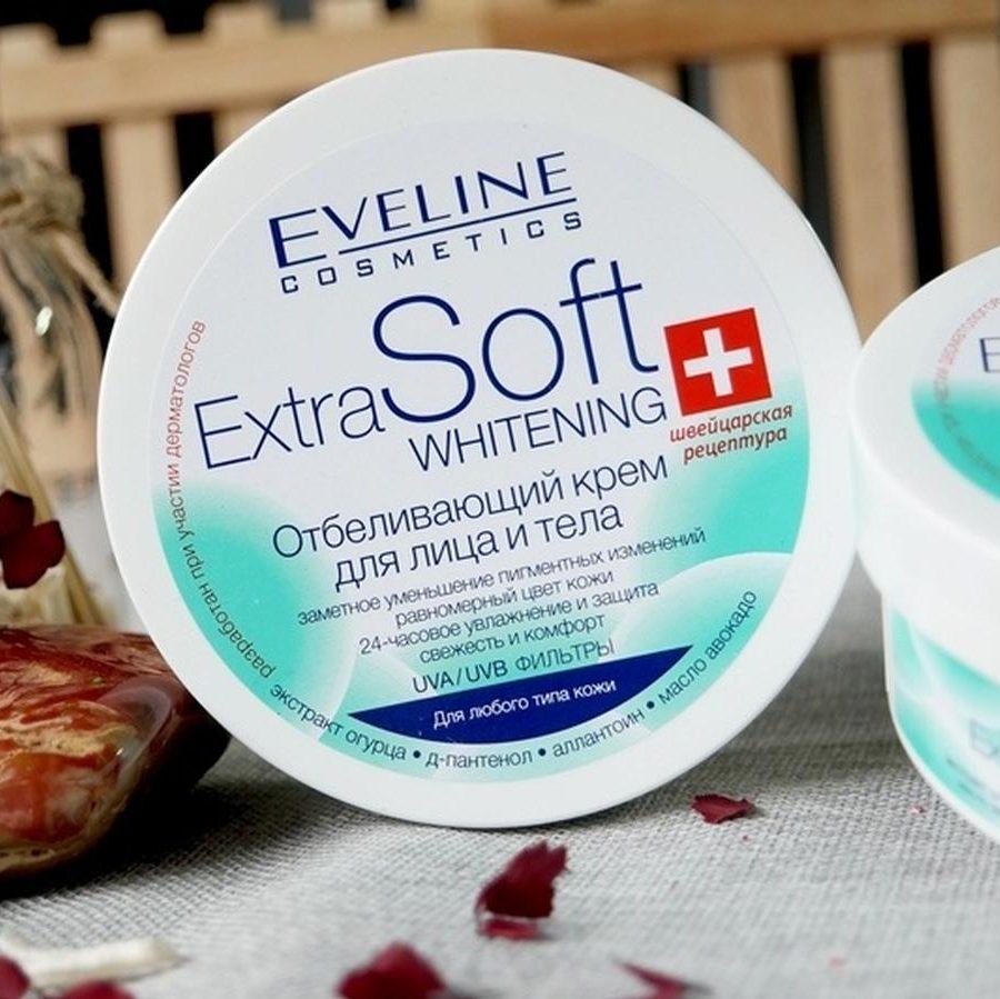 Extra Soft Eveline - Top kem dưỡng trắng da body và da mặt
