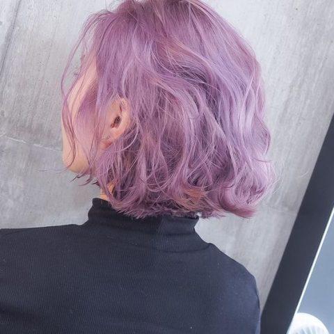 Màu tóc tím đẹp và phong cách