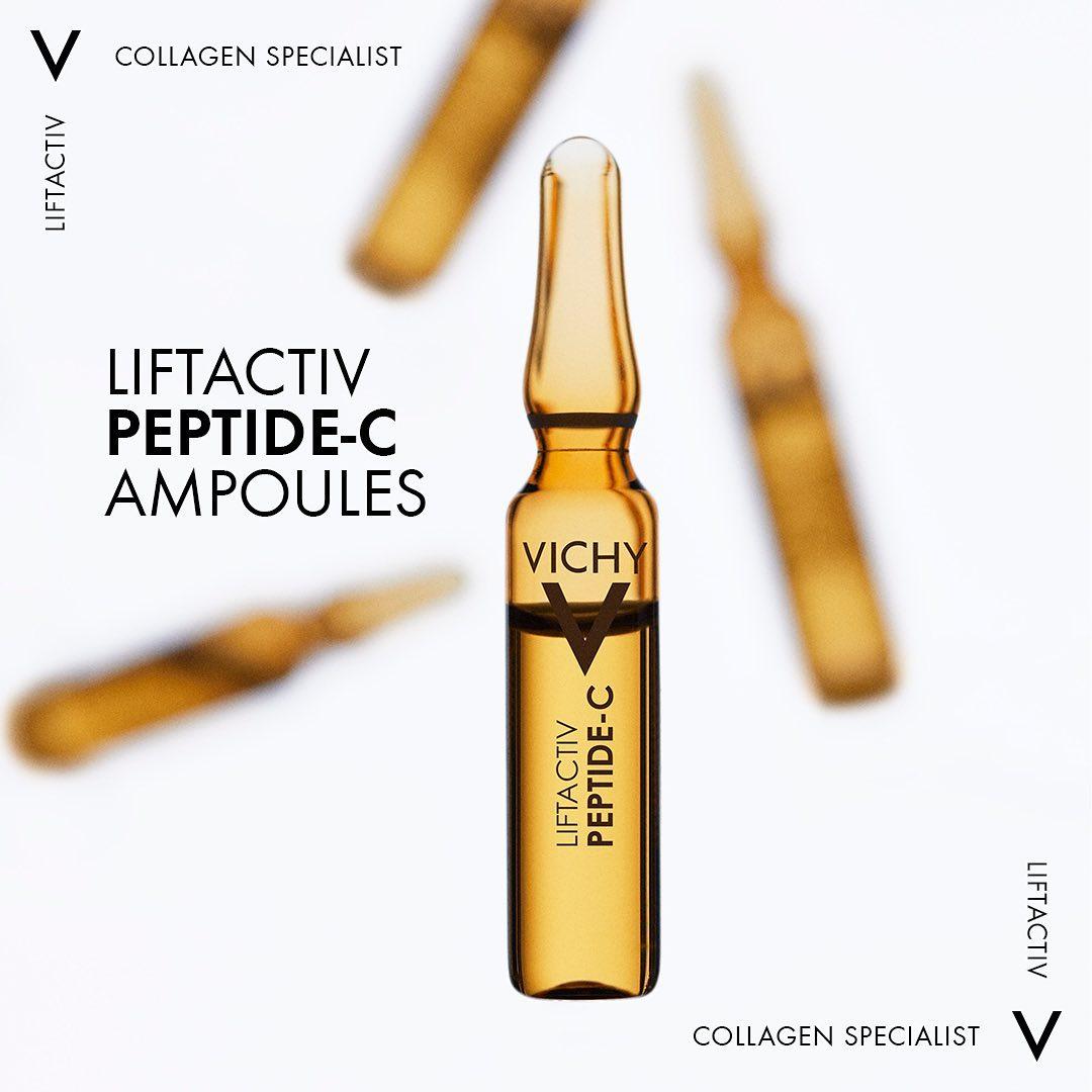 Dưỡng chất cô đặc Vichy Peptide-C Anti-Ageing có chứa Polypeptides