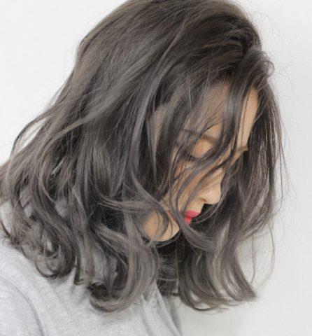 Tóc uốn ngang vai cho mặt tròn - tóc uốn tầng