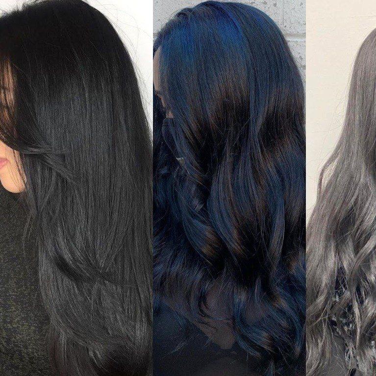 Thay đổi tone màu tóc với bảng màu nhuộm tóc đen